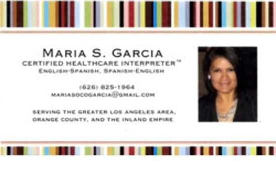 Maria S Garcia